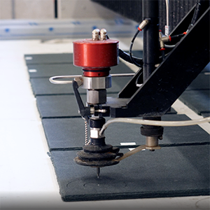 Cibo uses water jet cutting technology for unitized materials