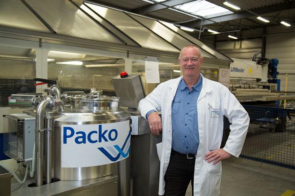 Dirk Boquez, productiemanager Packo Inox