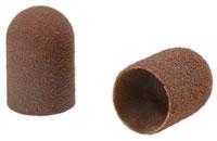 Abrasive caps round