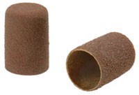 Abrasive caps flat