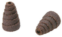 Cartridge rolls conical