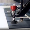 Cibo utilise la technologie de découpe au jet d'eau pour les matériaux unitized