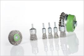 Brosses abrasives